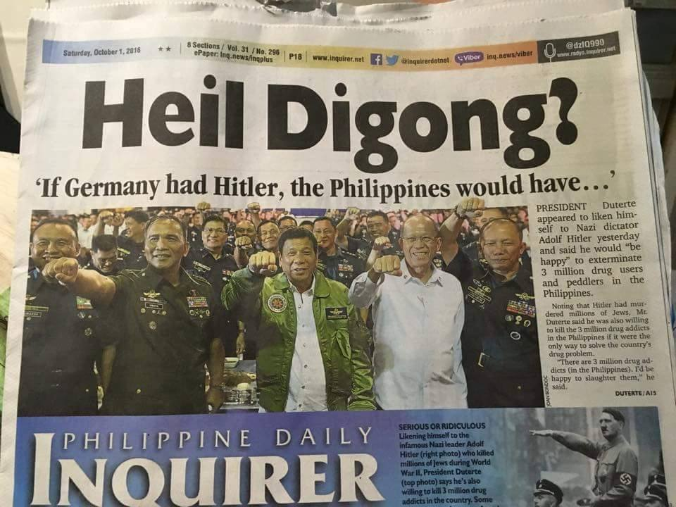 Could the Philippine Daily Inquirer be charged for inciting ...