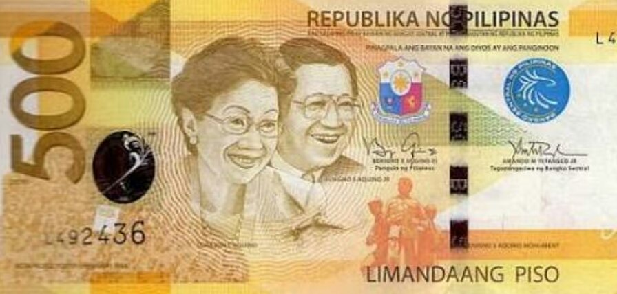 the aquinos are traitors time to remove their faces from the 500 peso bill get real post. Black Bedroom Furniture Sets. Home Design Ideas