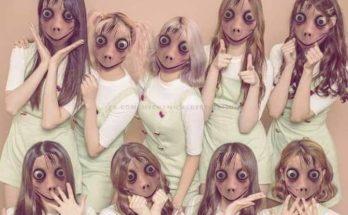 Momo challenge girl band