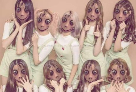 Momo challenge girl band
