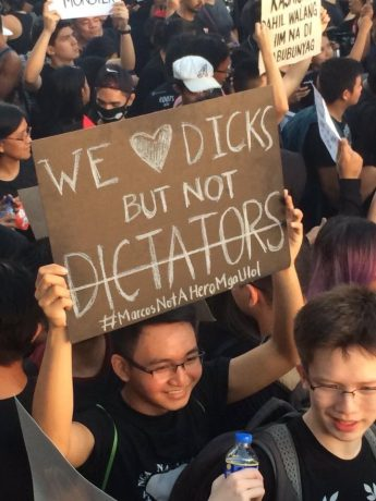 dicks dictators dicktators make love not war stupid