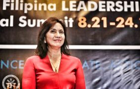 Conspiracy Theory: Ate LENI as an ALIEN unleashed to destroy Digong and Bongbong