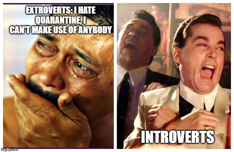 introvert extrovert